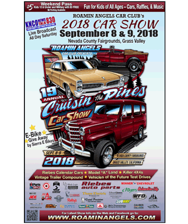 Roamin Angels' Car Show Poster