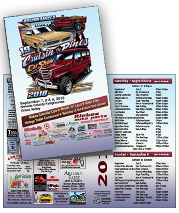 Roamin Angels Car Show Program