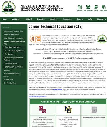 NJUHSD - CTE Program